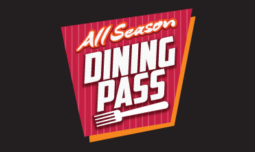 All Season Dining Pass Now only $49.99